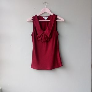 Allison Taylor Red Wine Blouse